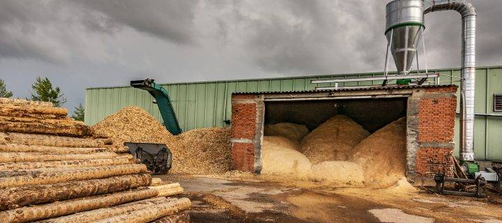 Sawmill Waste Collection Helps our Environment