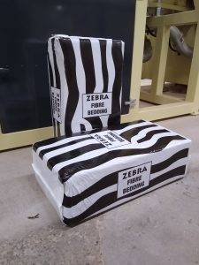 Zebra Fibre Animal Bedding - PH Winterton and Son