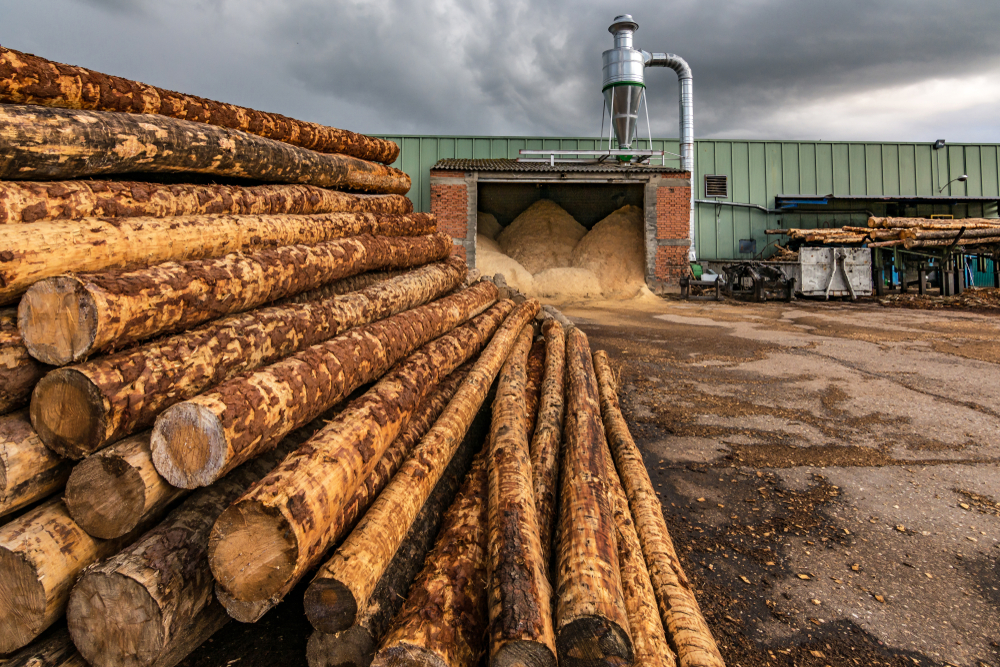 Preparing for Sawmill Waste Collection